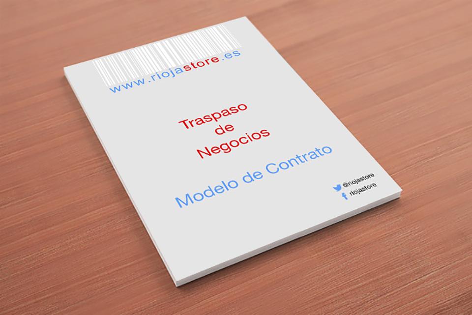 📈 MODELO DE CONTRATO DE TRASPASO | Punto Negocio