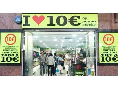Franquicias I Love 10€