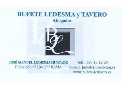 Bufete Ledesma y Tavero abogados
